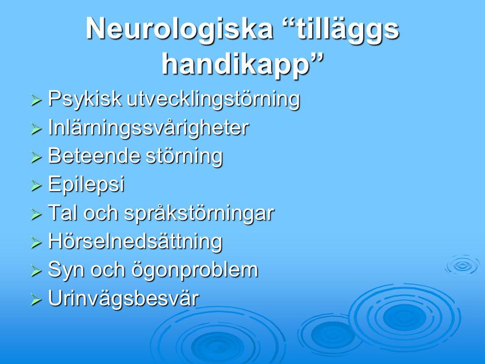 Neurologiska tilläggs handikapp