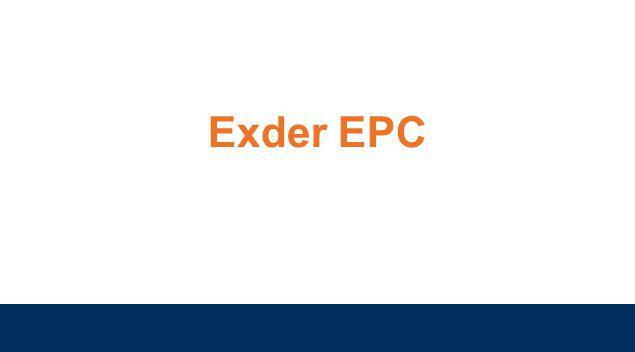 Exder EPC