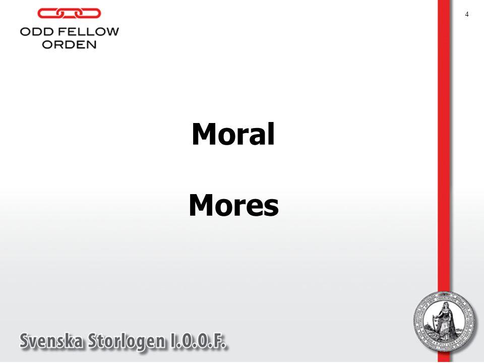 Moral Mores