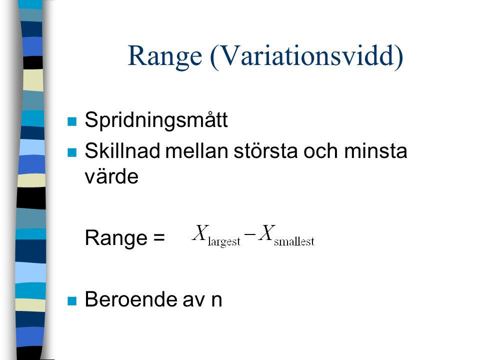 Range (Variationsvidd)