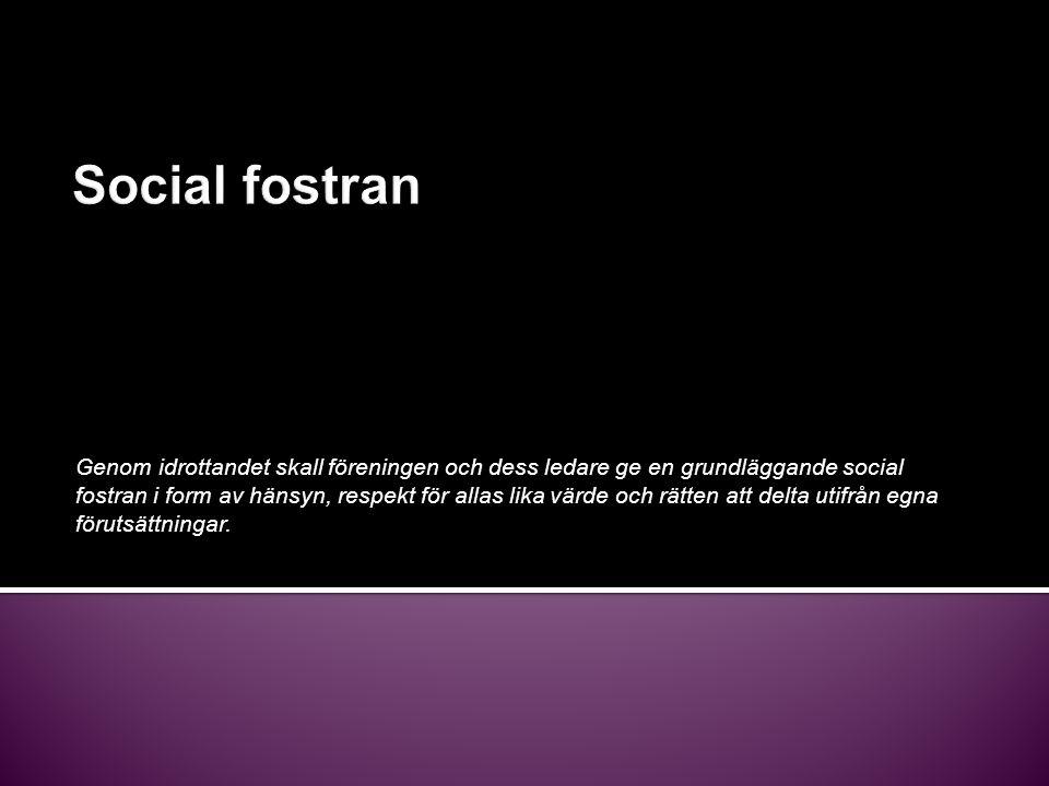 Social fostran