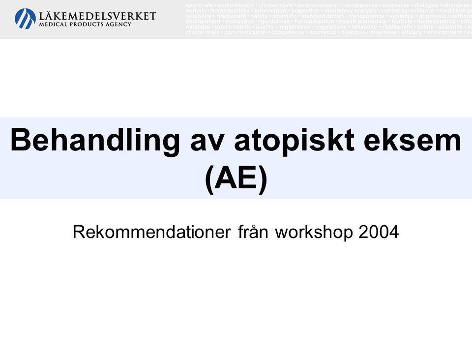 Behandling av atopiskt eksem (AE)