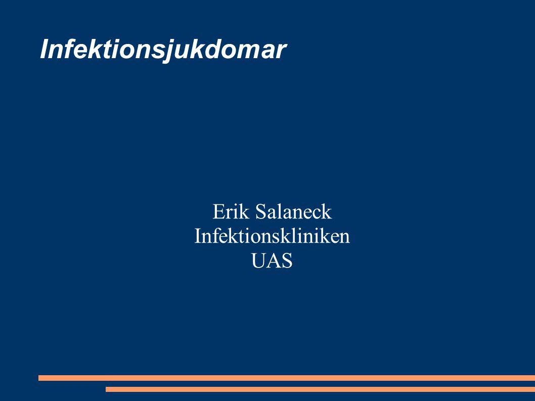 Erik Salaneck Infektionskliniken UAS