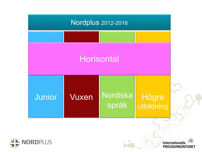 Horisontal Junior Vuxen Högre utbildning Nordiska språk