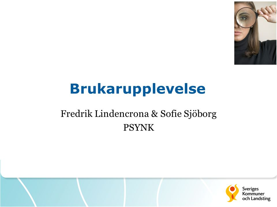 Fredrik Lindencrona & Sofie Sjöborg PSYNK