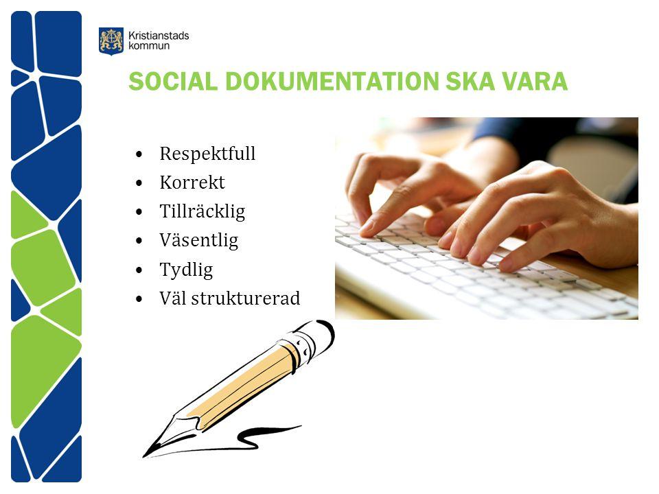 SOCIAL DOKUMENTATION SKA VARA