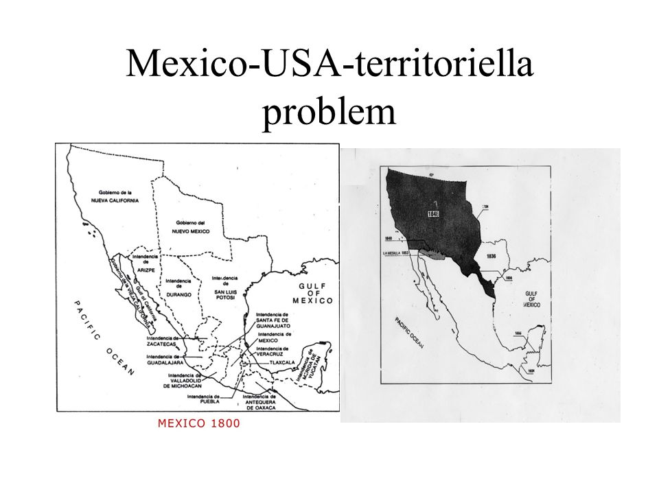 Mexico-USA-territoriella problem