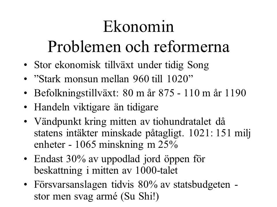 Ekonomin Problemen och reformerna