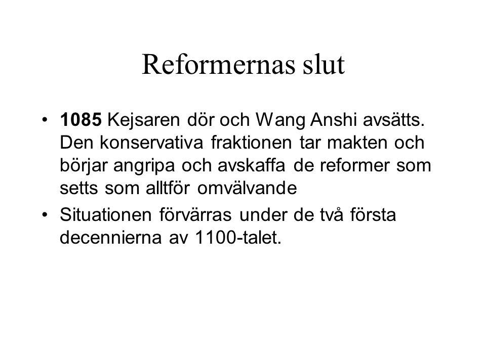 Reformernas slut