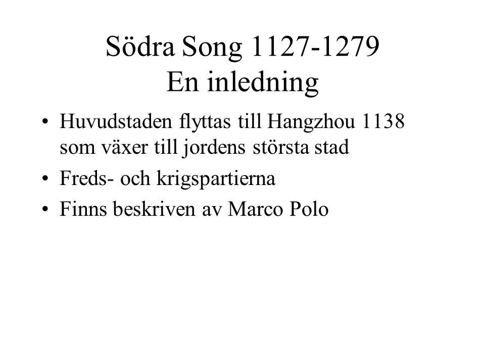 Södra Song 1127-1279 En inledning