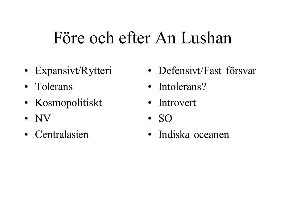 Före och efter An Lushan
