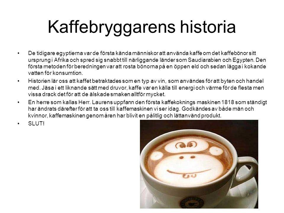 Kaffebryggarens historia