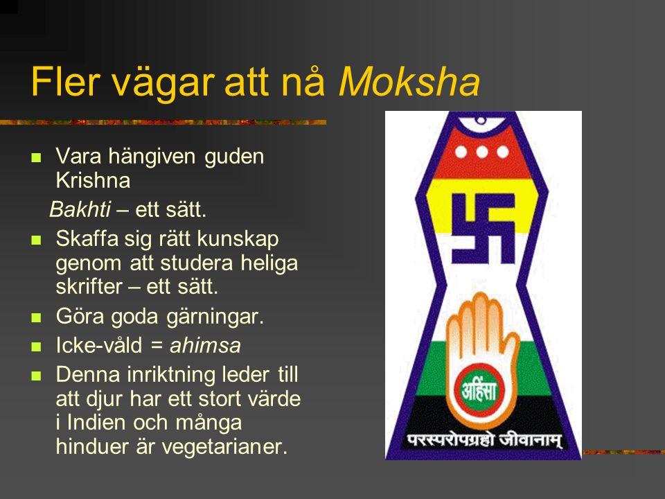 Fler vägar att nå Moksha