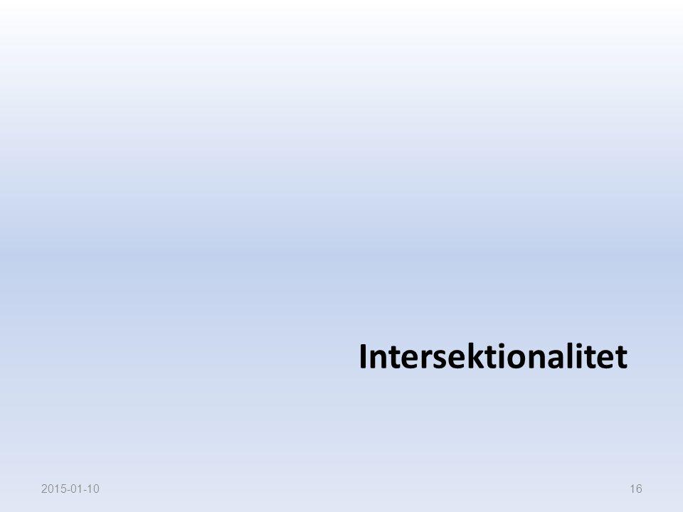 Intersektionalitet 2017-04-08 16