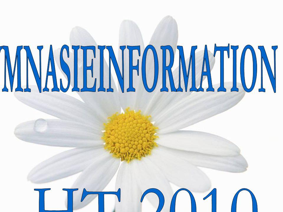 GYMNASIEINFORMATION HT 2010
