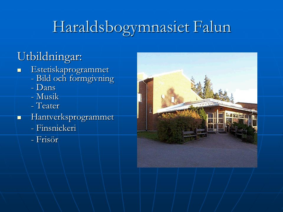 Haraldsbogymnasiet Falun