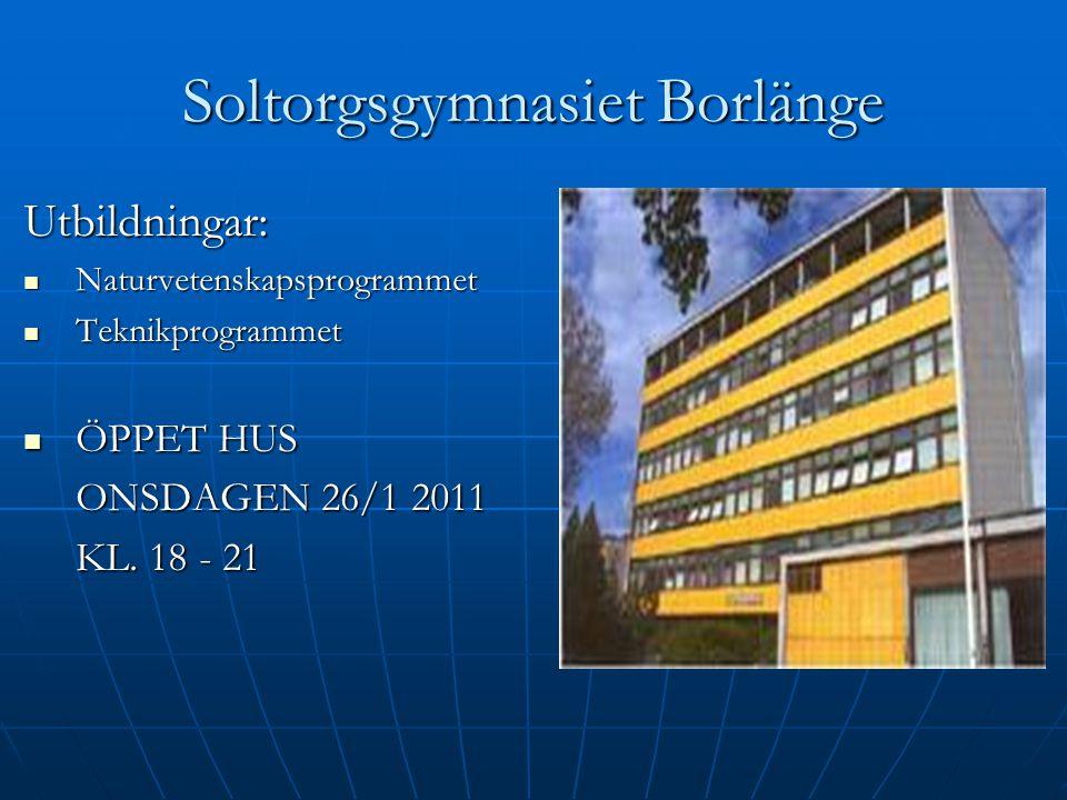Soltorgsgymnasiet Borlänge