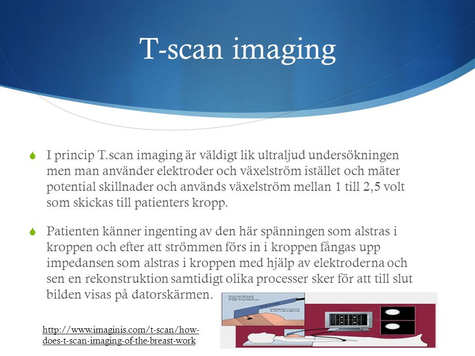T-scan imaging