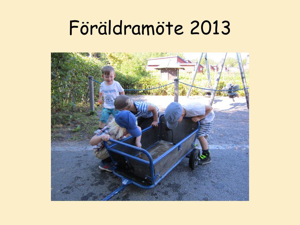 Föräldramöte 2013