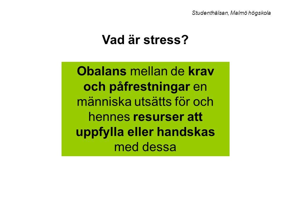 Studenthälsan, Malmö högskola