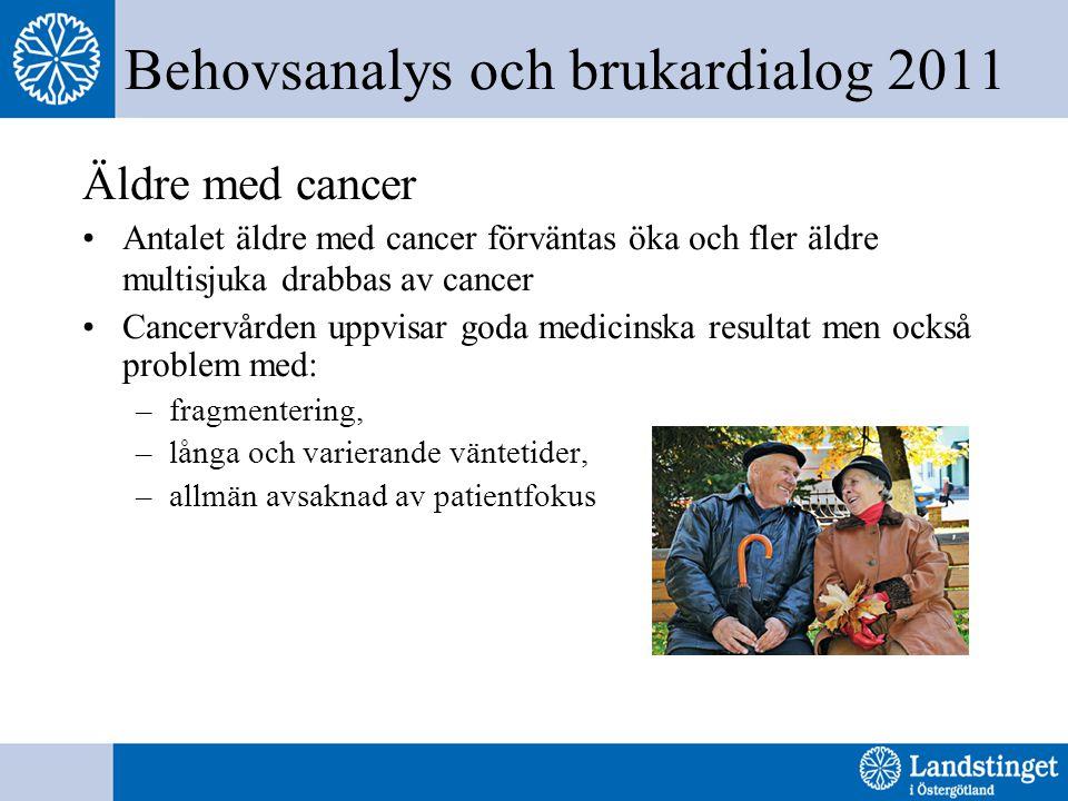 Behovsanalys och brukardialog 2011