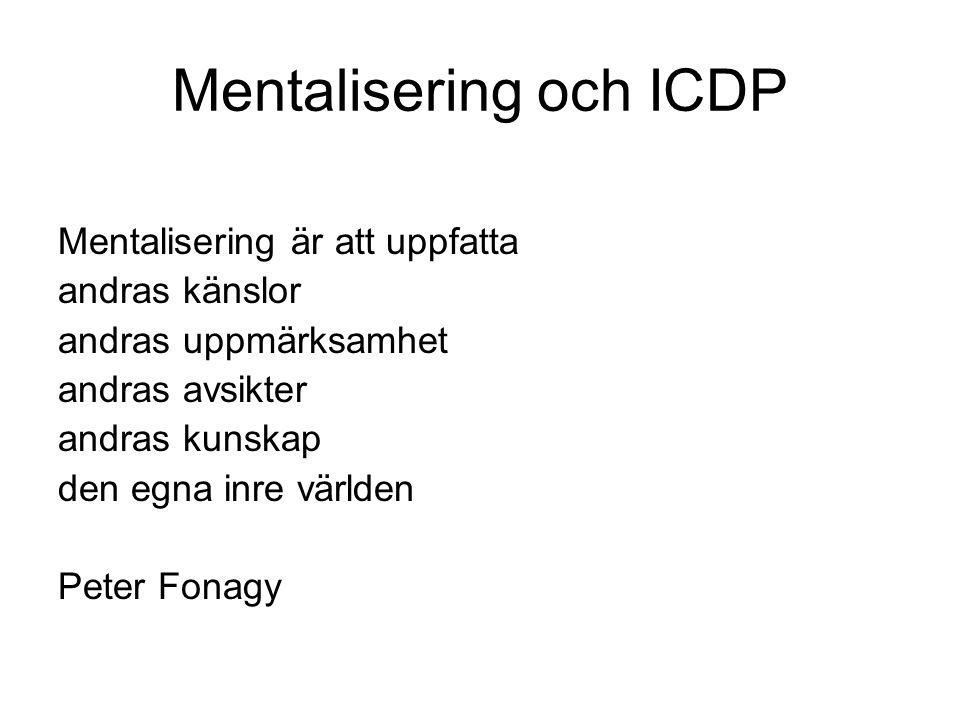 Mentalisering och ICDP
