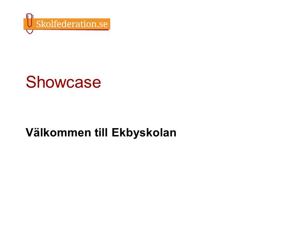 Välkommen till Ekbyskolan