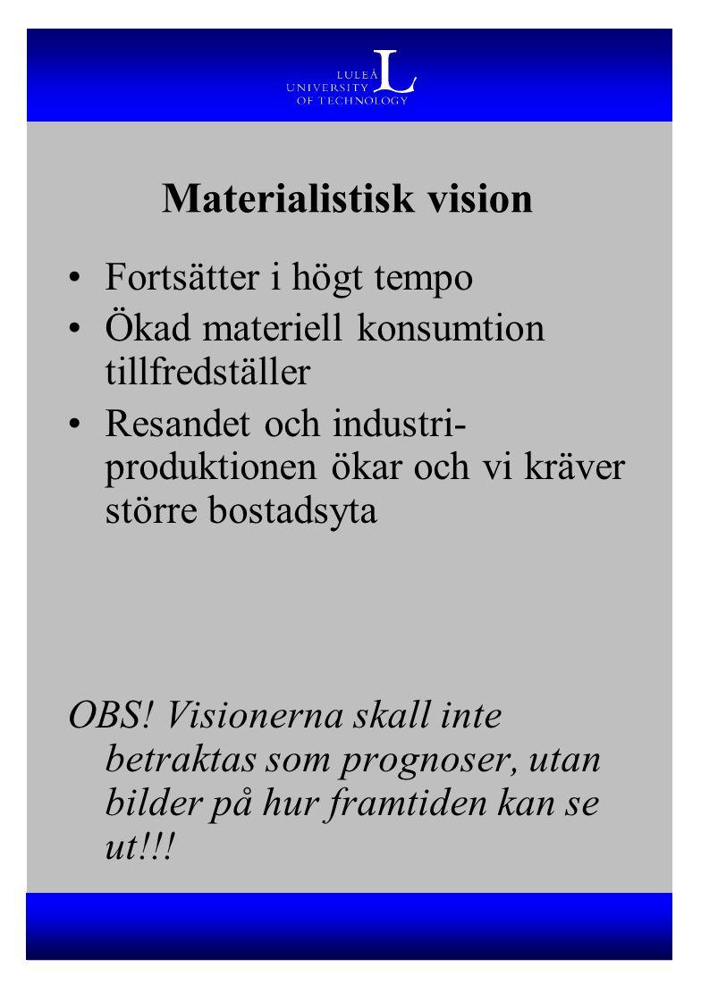 Materialistisk vision