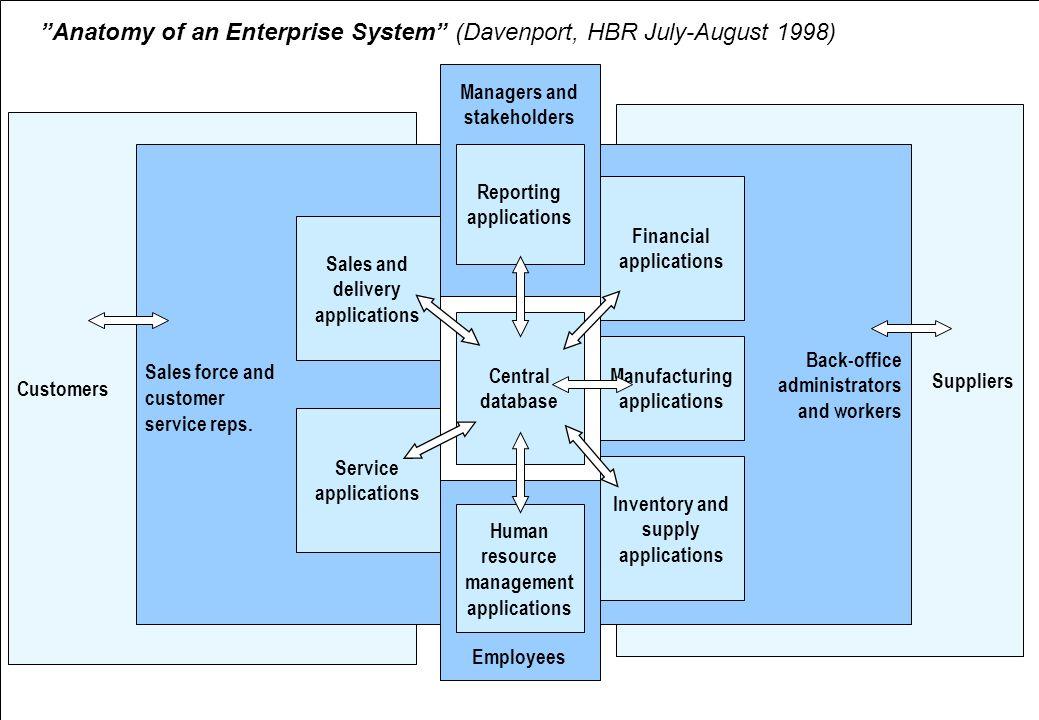 Davenports kritik mot affärssystem (HBR 1998)