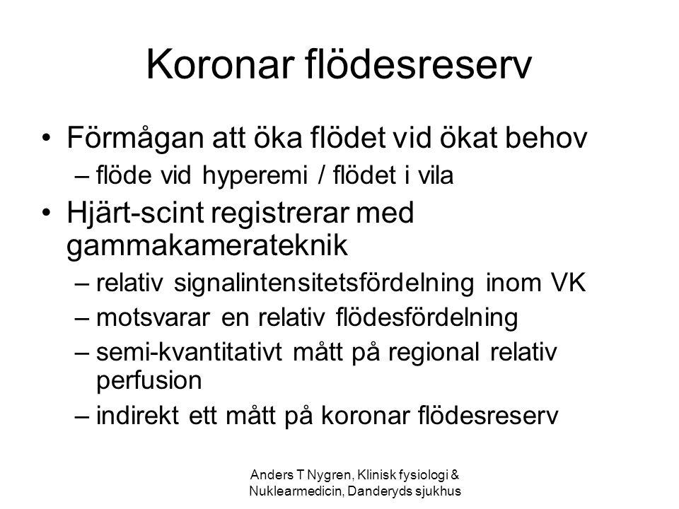 Anders T Nygren, Klinisk fysiologi & Nuklearmedicin, Danderyds sjukhus
