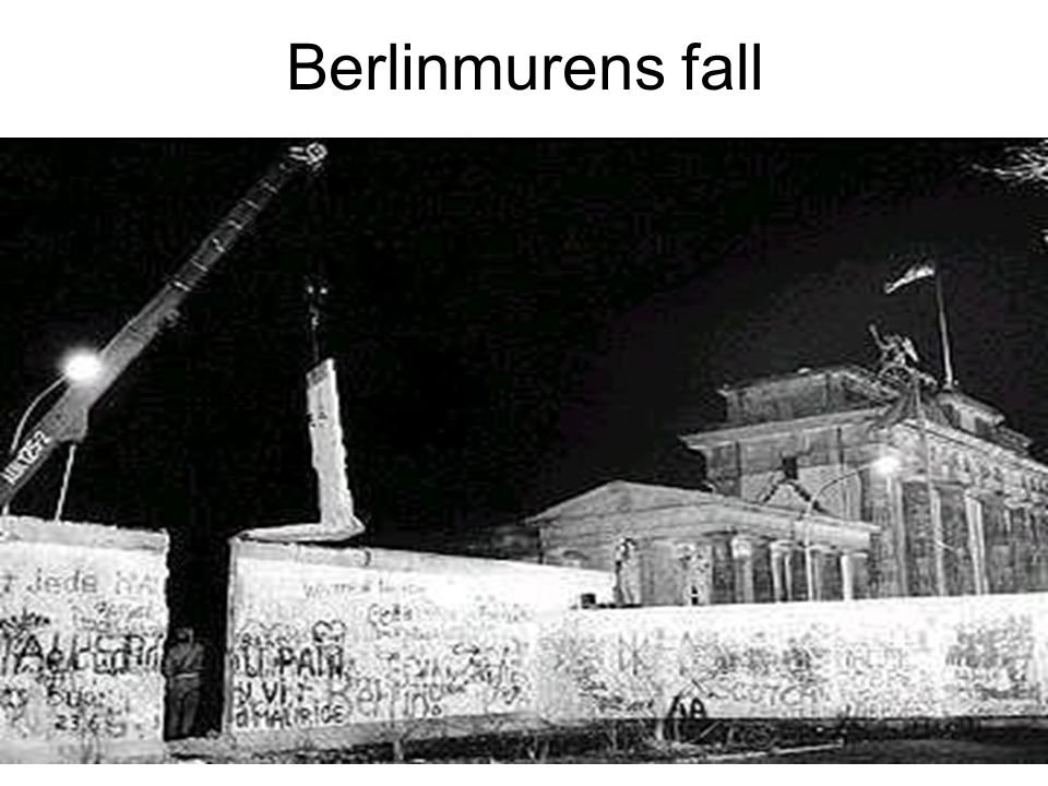 Berlinmurens fall 93