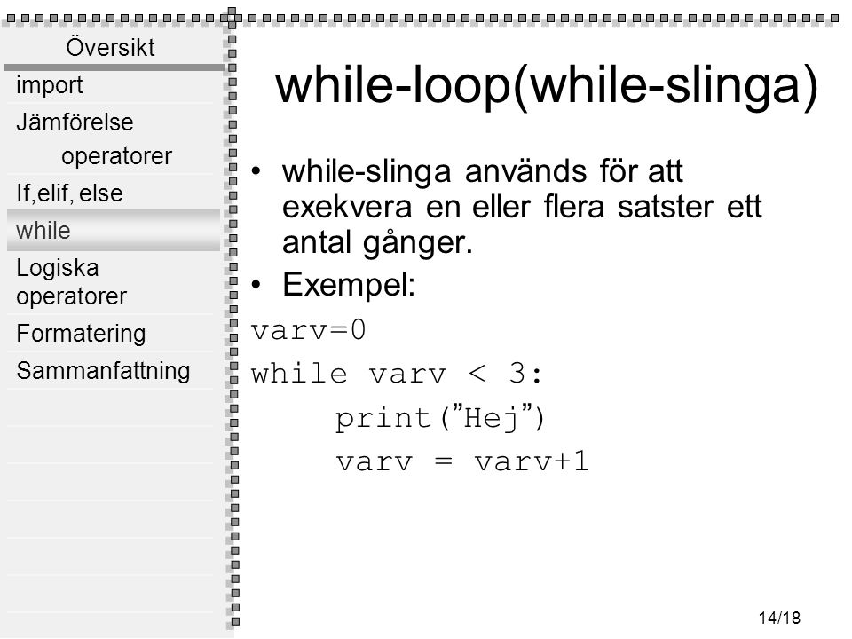 while-loop(while-slinga)