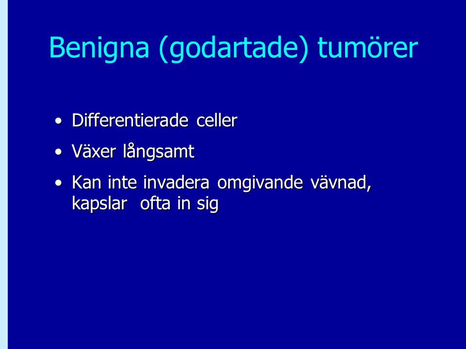 Benigna (godartade) tumörer