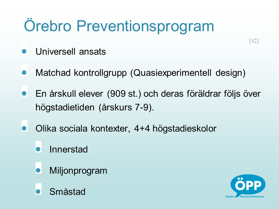 Örebro Preventionsprogram