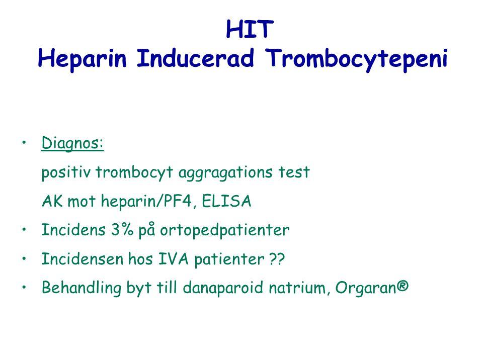 Heparin Inducerad Trombocytepeni