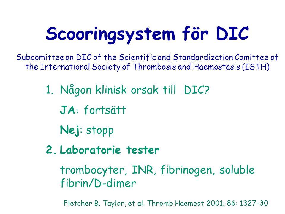Scooringsystem för DIC