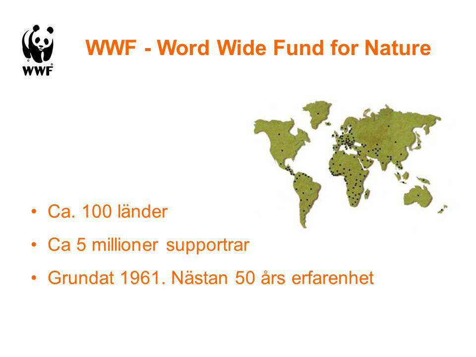 WWF - Word Wide Fund for Nature