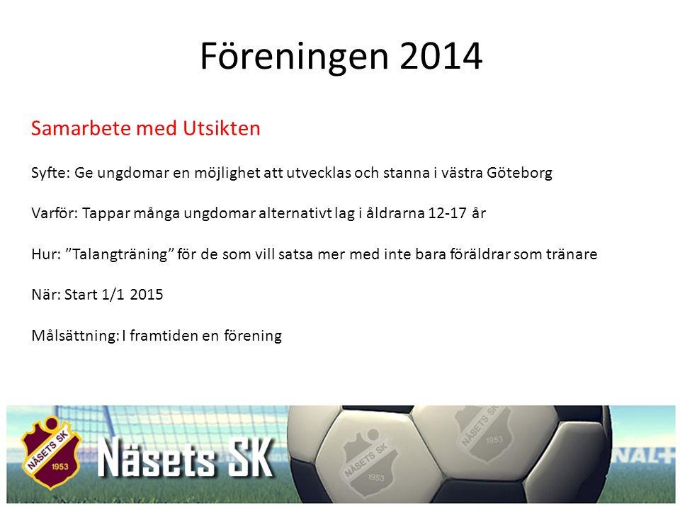 Föreningen 2014 Samarbete med Utsikten
