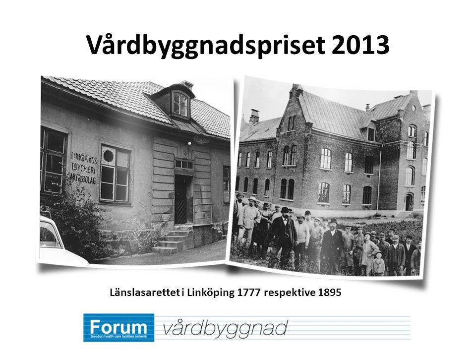 Länslasarettet i Linköping 1777 respektive 1895
