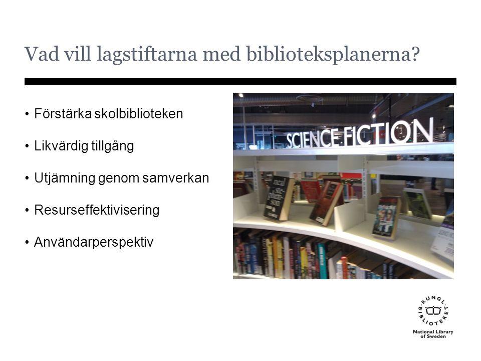 Vad vill lagstiftarna med biblioteksplanerna