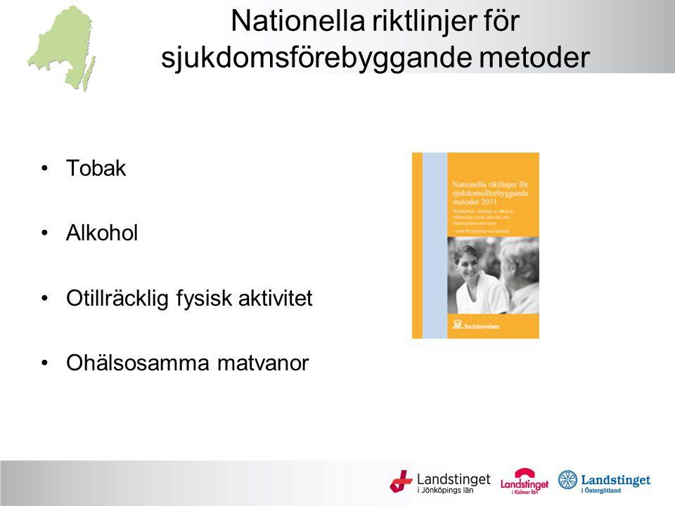 Nationella riktlinjer för sjukdomsförebyggande metoder