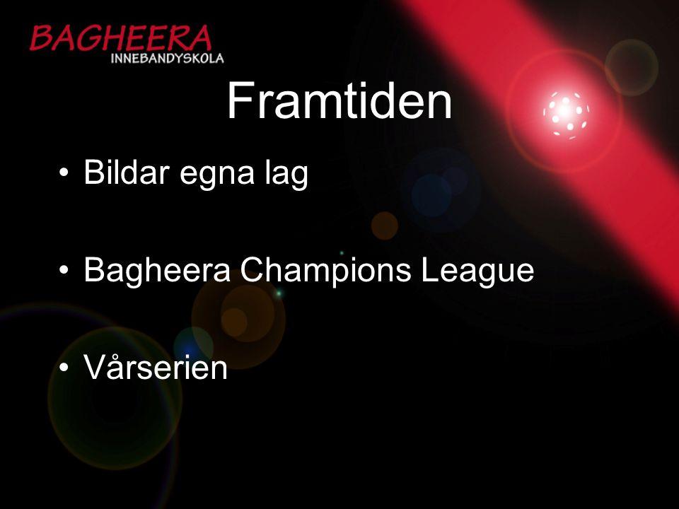 Framtiden Bildar egna lag Bagheera Champions League Vårserien
