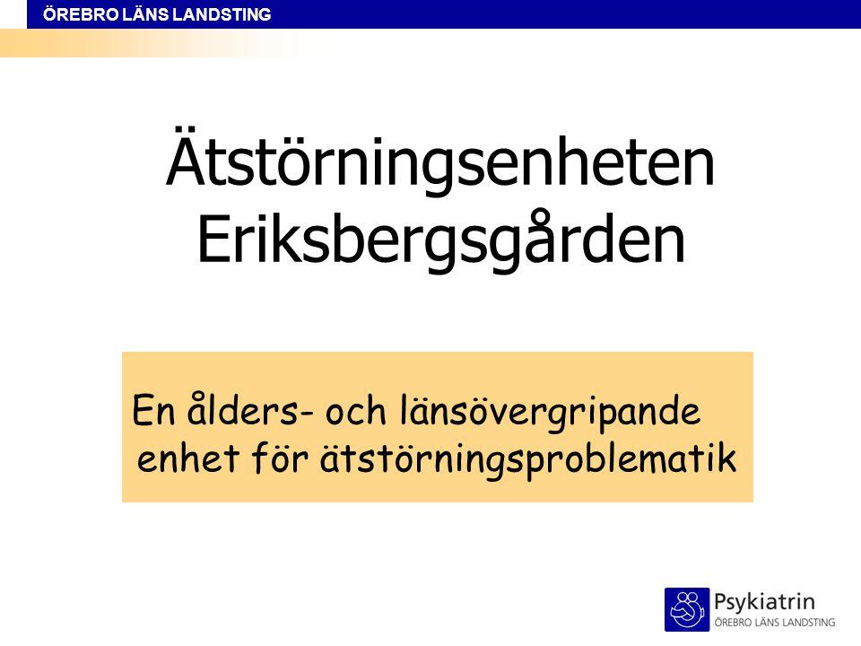 Ätstörningsenheten Eriksbergsgården