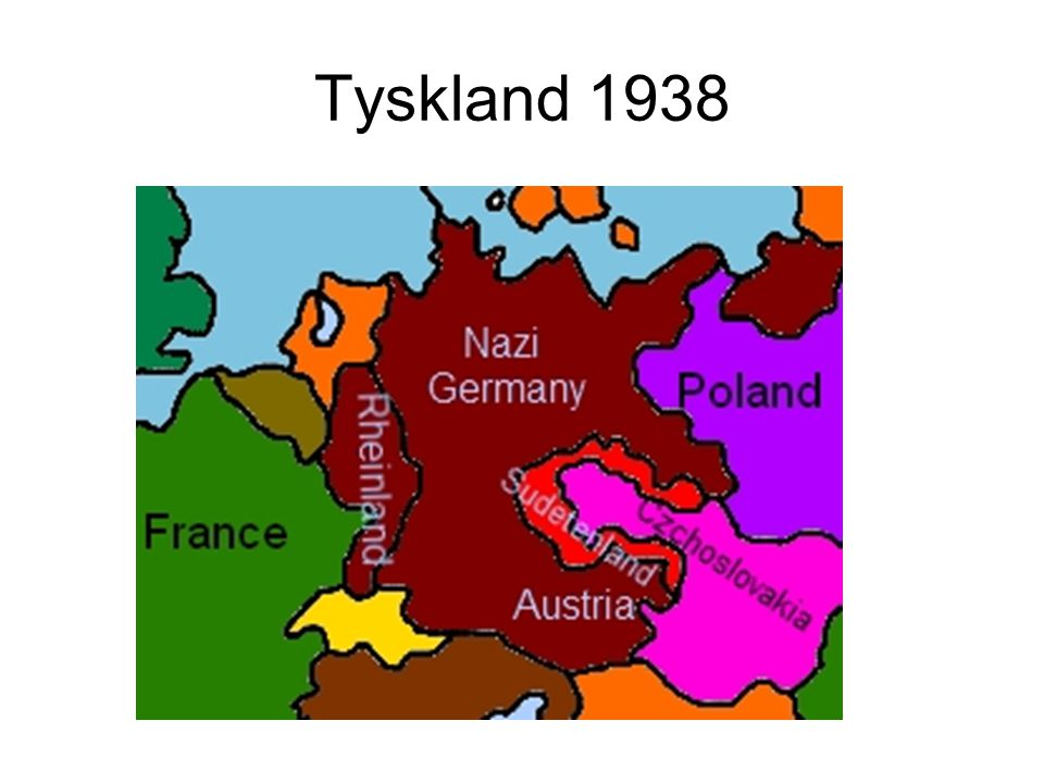 Tyskland 1938