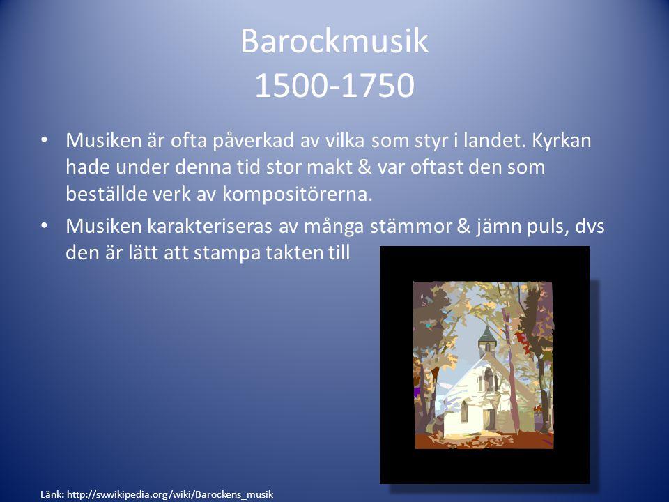 Barockmusik 1500-1750