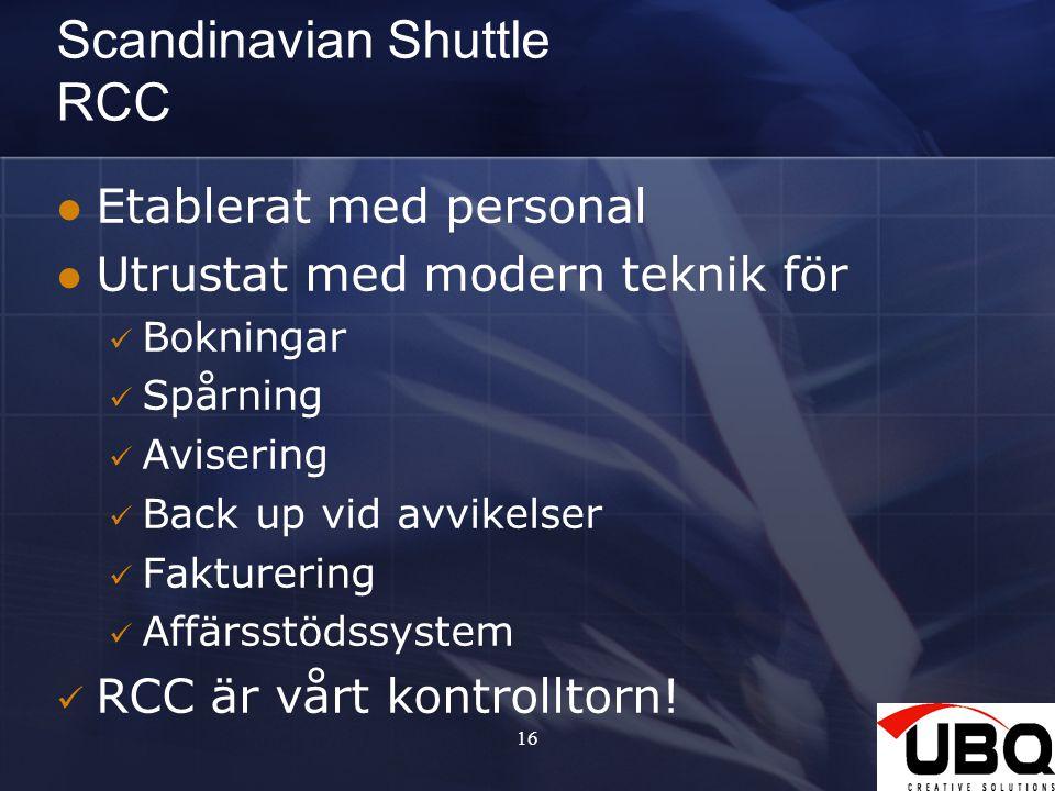 Scandinavian Shuttle RCC