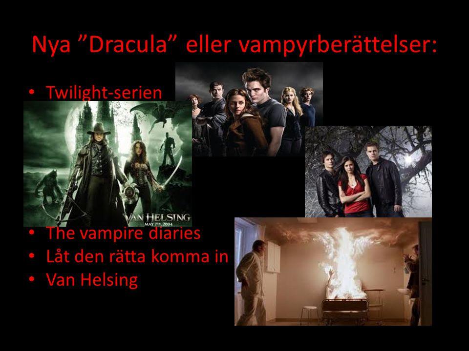 Nya Dracula eller vampyrberättelser: