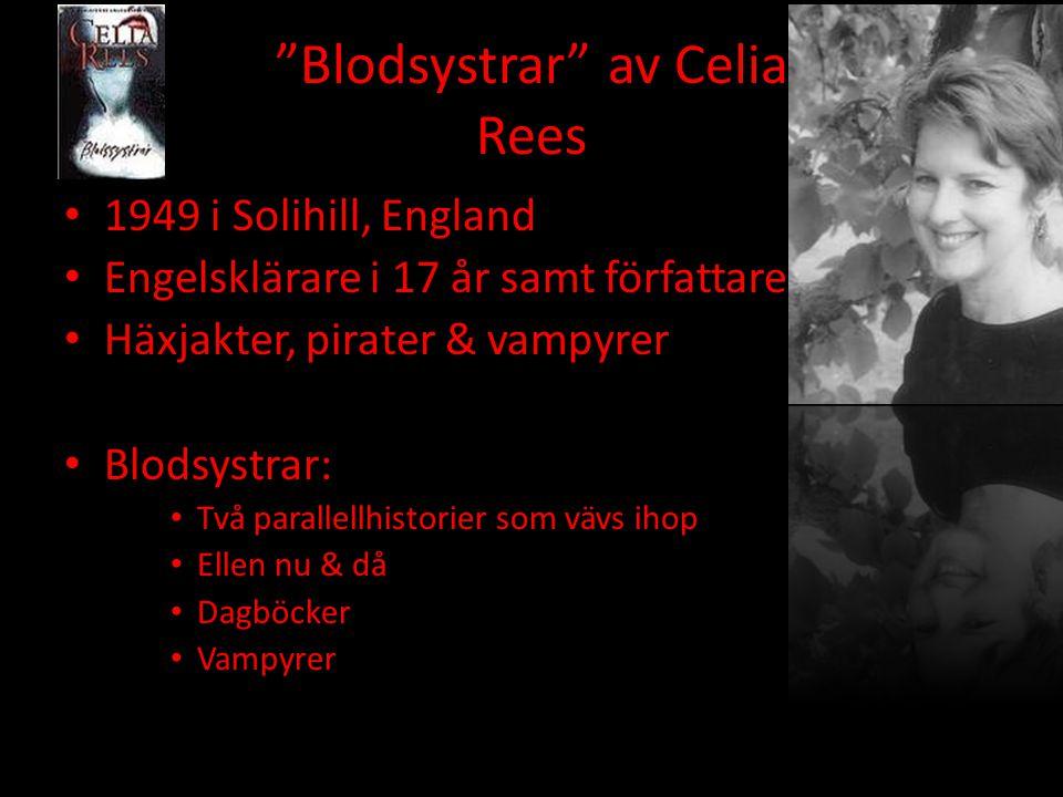 Blodsystrar av Celia Rees