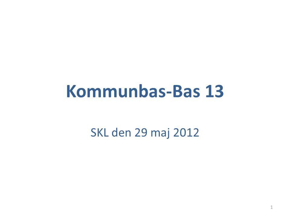 Kommunbas-Bas 13 SKL den 29 maj 2012