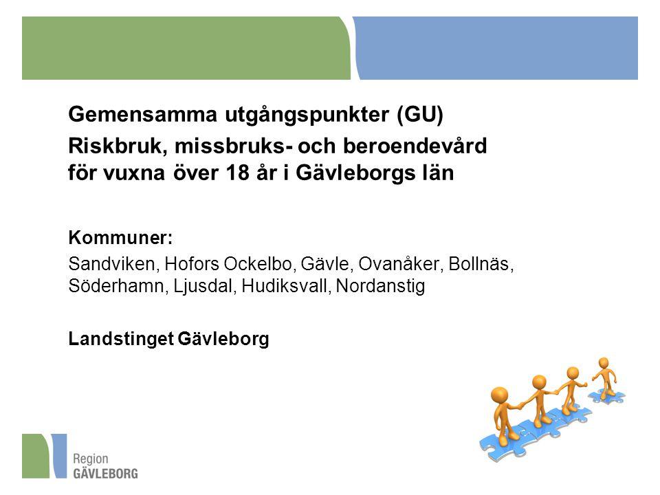 Gemensamma utgångspunkter (GU)